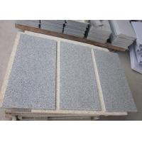 Buy cheap China Bianco Sardo Grey G603 Granite Stone Tiles, light grey granite tiles from wholesalers