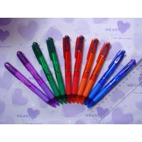 Buy cheap Hot multi color pen, three color ball pen DX676 from wholesalers