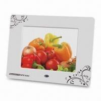 Buy cheap Digital Photo Frame with 800 x 600 Pixels High Resolution and Built-in 256MB Flash Memory product