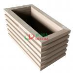 Buy cheap Wood Plastic Compsites Large Planter Boxes , Trex Garden Boxes 1000 X  500 X 592mm from wholesalers