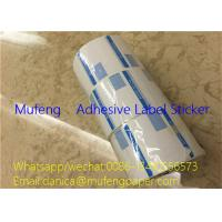 Buy cheap Simple Words Printed Direct Thermal Label Roll Heat Sensitive With 38mm Paper Core from wholesalers
