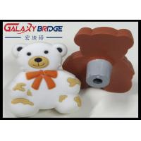Buy cheap Grey Bear Soft Plastic Kids Furniture Knobs Children Bedroom Furniture Decorative Knobs White PVC Cabinet Knobs from wholesalers