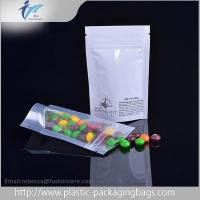 Buy cheap Clear  Window Resealable  Pouch With Zipper , Stand Up Foil Pouches from wholesalers