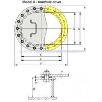 Buy cheap A Type Manhole Cover from wholesalers