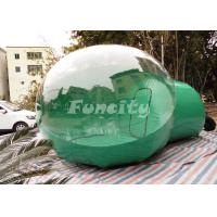 Buy cheap Customized Pvc Material Inflatable Clear Bubble Tent With CE Approved from wholesalers