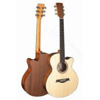 Buy cheap Senior Full Size Spruce Solidwood Western Guitar / Wood Acoustic Guitar Professional TP-AG from wholesalers