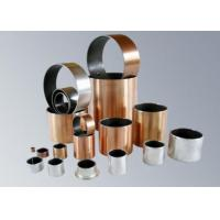 Buy cheap PTFE + Porous Bronze Powder Steel Backing Self Lubricating Bushing Du Bearing / Du Bush ( SF-1 ) from wholesalers