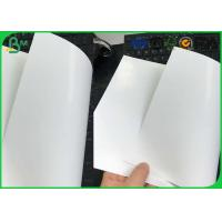 Buy cheap 80 85 90 Gsm One Side Coated Printing Paper , Glossy Art Paper For Cigarette Box Package from wholesalers