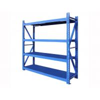 Buy cheap 700kg Four Layer Warehouse Storage Shelves Warehouse Storage Racking Metal Shelving from wholesalers