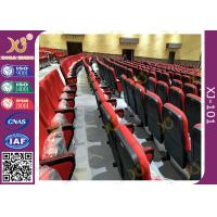 Buy cheap Lumbar Support Wear Resistance Fabric Theatre Seating Chairs With 5 Years product
