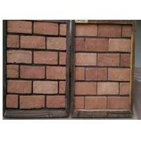 customized exterior faux brick panels thin brick veneer for fireplace tv walls decration