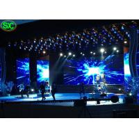 Buy cheap P3.91 Music Show Ultra Thin Led Video Wall Rental Waterproof Hanging Structure from wholesalers