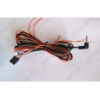 Buy cheap Parking / Reverse Sensor Automotive Wiring Harness , Right Angle DC Plug Cable Harness from wholesalers