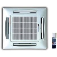 Buy cheap Chilled water 4 way ceiling concealed cassette type fan coil units-200CFM 4 TUBE from wholesalers