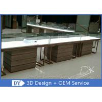 Buy cheap One Stop Service Modern Jewellery Shop Furniture With Lighting product