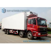 Buy cheap 45-50 Cubic 8x4 Refrigerated Van And Truck Rentals FOTON - Auman 280 Kw / 380 Hp from wholesalers