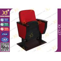Buy cheap Cold Rolled Steel Leg PP Back & Seat  Education Seating Auditorium Chairs from wholesalers