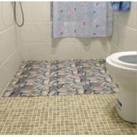 Buy cheap Shock Absorption Non Slip Bathroom Mats Mat Polyester Mesh With PVC Coating from wholesalers