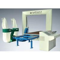Buy cheap Industrial Computer 2D EPE / PU Foam Profiler Cutting Machine 5 KW 1.3 - 1.5mm product
