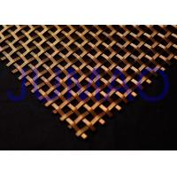 Buy cheap Customized Decorative Wire Mesh Cabinet Inserts Smaller Gauge Crimped Wire product