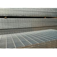 Buy cheap Hot Dip Galvanized Serrated Steel Grating For Anti Slip Bridge Decking from wholesalers