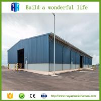 Buy cheap Steel structure workshop fabricate warehouse high ceiling storage building from wholesalers