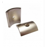 Buy cheap HTCD Strong Permanent N33 Ferrite Segment Magnets from wholesalers