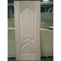 Buy cheap 5 - 10% Moisture HDF Door Skin High Durabiloity Wood Veneer Door Skin product