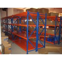 Buy cheap Logistic central medium duty steel shelves selective racking system with powder coated from wholesalers