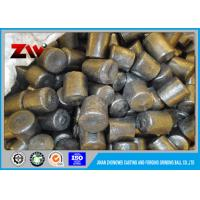 Buy cheap HRC 58-63 12*12mm cast iron steel grinding media balls Of Cement Cr-8 from wholesalers