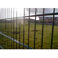 Buy cheap Robust Green Mesh Fencing Wire Fence Gate Low Carbon Steel Wire Material from wholesalers