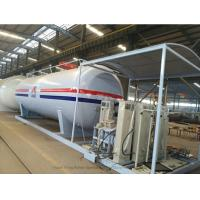 Buy cheap Customized50m3 LPG Skid Station With Automobile LPG Gas Dispenser ASME Certificate from wholesalers