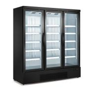 Buy cheap Painted Steel Commercial 3 Glass Freezer For Supermarkets Defrosted Glass Door Freezer from wholesalers