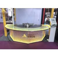 Buy cheap Commercial Induction Semi - Circle Teppanyaki Table Grill With Purification System from wholesalers