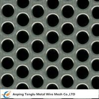 Buy cheap Perforated Mesh Sheet|Round Hole Shape  0.5-5mm Thickness Customized Size from wholesalers
