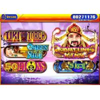 Buy cheap Fortunes Kings Electronic Slot Machine , Coin Gambling Machine 30 Max Linked from wholesalers