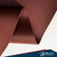 Buy cheap Two sides pu leather for making shoes, double sides pu raw material for shoe from wholesalers