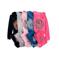 Buy cheap juicy woman sets  Fine embroidered velvet suit female sets from wholesalers