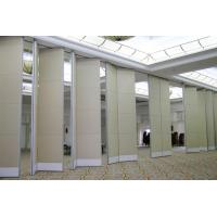 Buy cheap Auditorium Sliding Operable Partition Function Hall Sound Proof Movable Ceiling Room Dividers from wholesalers