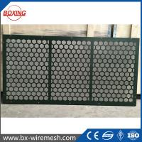 Buy cheap Factory Shale Shaker Screen/ Stell Frame Screen apply to oil control equipment from wholesalers