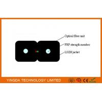 Buy cheap Indoor Figure-8 Bow-type FTTH  Drop Cable FRP Strength Member G657A2 LSZH from wholesalers
