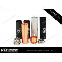 Buy cheap Munstro V2  Mechanical Mod E Cig Copper Plated Pin Munstro Mod Clone With 4 Tubes from wholesalers
