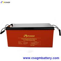 Buy cheap China Storage Battery 12V200ah Deep Cycle Gel Solar Accumulator from wholesalers