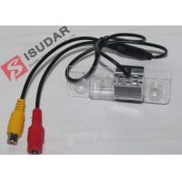 Glass Lens Skoda Octavia Reversing Camera , Wired Car Backup Camera DC 12V