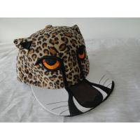 Buy cheap Cool Leopard Printed Snapback Caps, 100% Cotton Personalized Ladies Baseball Caps With Metal Buckle from wholesalers