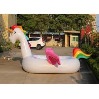 Buy cheap 10 Feet giant 6 Person Lounge Unicorn Inflatable Pool Inflatable Floating Toys from wholesalers