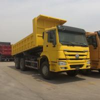 Buy cheap 16m3 Bucket Volume Dump Truck 24 Tons To Transport Sand Or Stone In Tough Road from wholesalers
