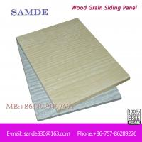 Buy cheap Easy installation textured Fiber cement wall cladding board for exterior wall decoration from wholesalers