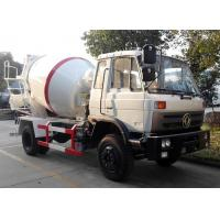 Buy cheap Self Loading Ready Mix Concrete Mixer Trucks Dongfeng Cummins Mobile Concrete Mixer Truck from wholesalers