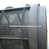 Buy cheap Steel pated punched holes MSW municipal solid waste rotary drum trommel screen for garbage recycling plant from wholesalers